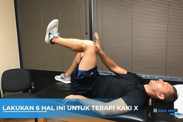 terapi kaki x
